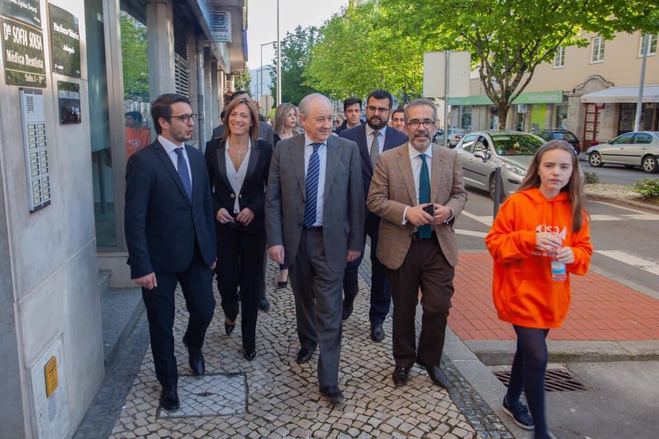 Rui Rio e Paulo Rangel visitaram empresa em Vale de Cambra