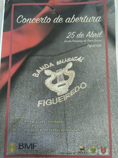 Banda Musical de Figueiredo promove concerto