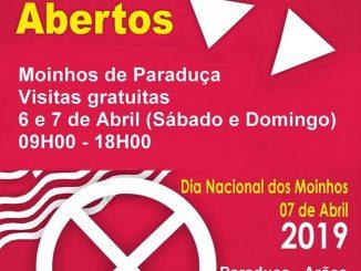 Paraduça acolhe 'Dia Nacional dos Moinhos – Moinhos Abertos 2019'