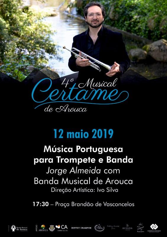 Banda Musical de Arouca promove IV Certame Musical de Arouca