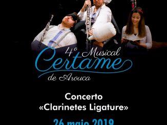 Loja Interativa de Turismo de Arouca recebe concerto dos «Clarinetes Ligature»