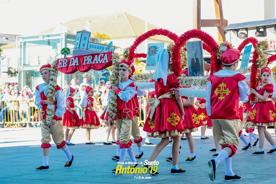 Marchas de Santo António seniores e infantis