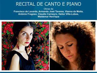 Círculo Cultura e Democracia promove Recital de Canto e Piano