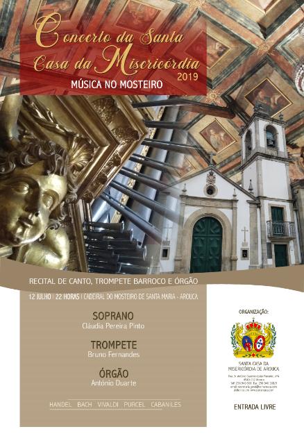 Santa Casa da Misericórdia de Arouca promove 'Música no Mosteiro'