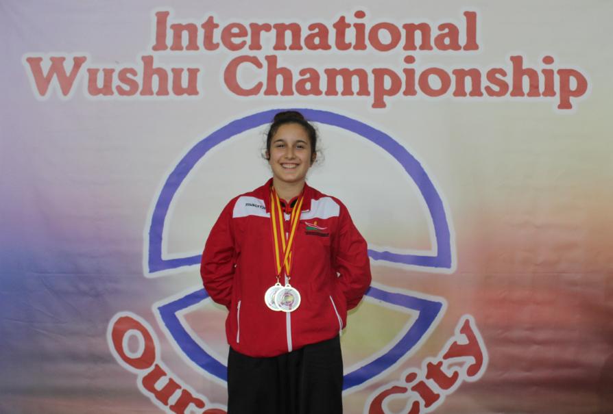 Kung Fu: Inês Carvalho conquista ouro em Espanha