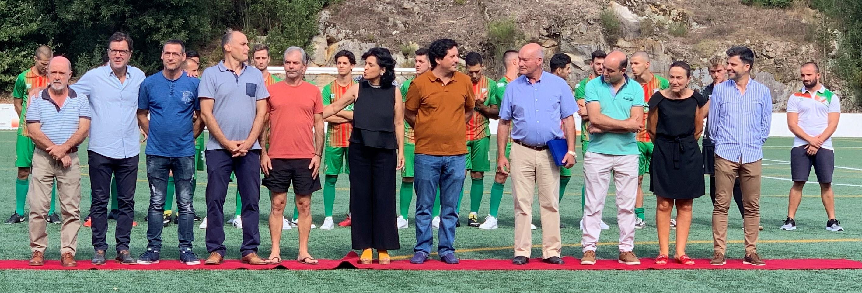 U.D. Fermedo apresentou equipas e homenageou antigo presidente