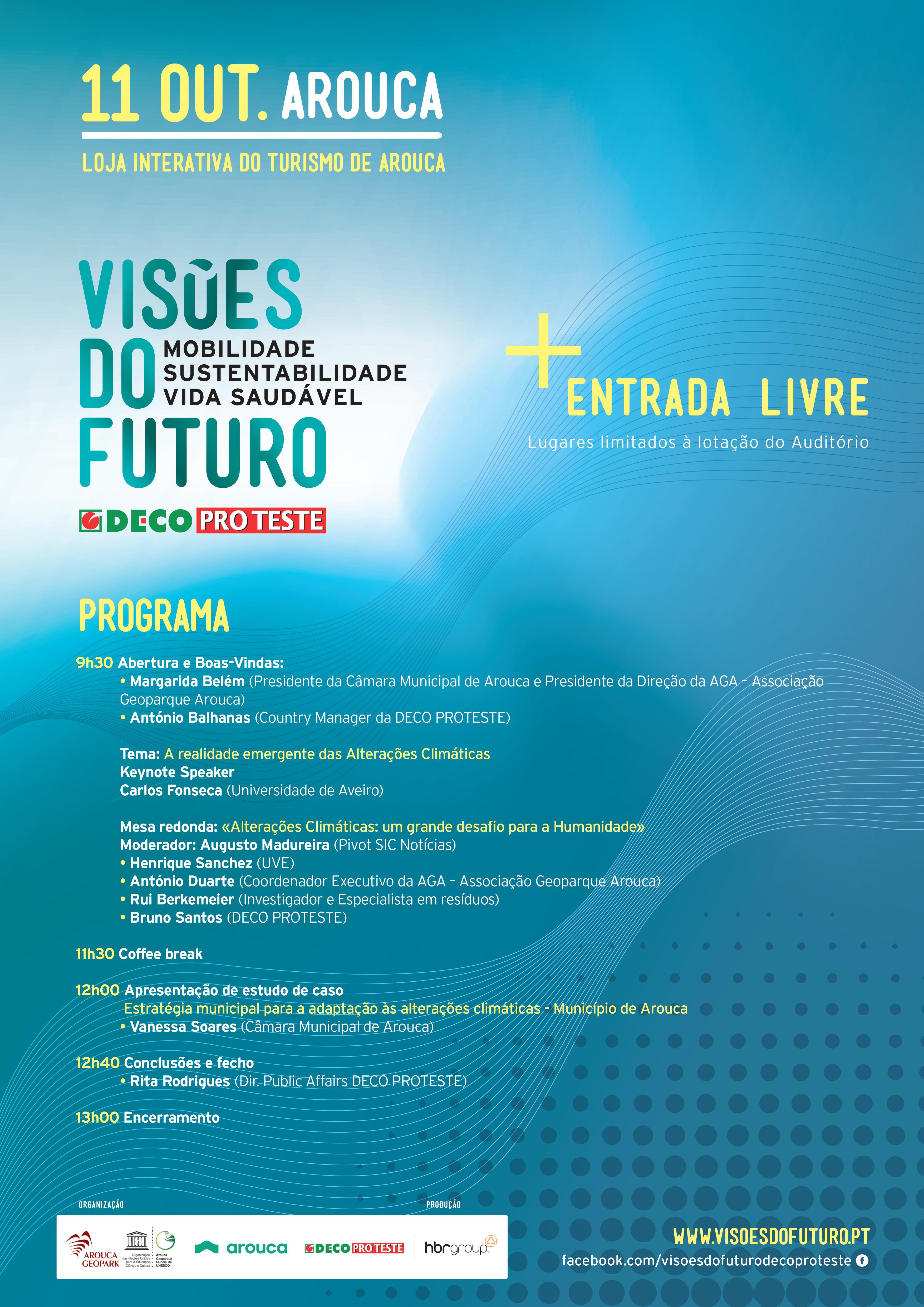 Arouca acolhe conferência 'Visões de Futuro'
