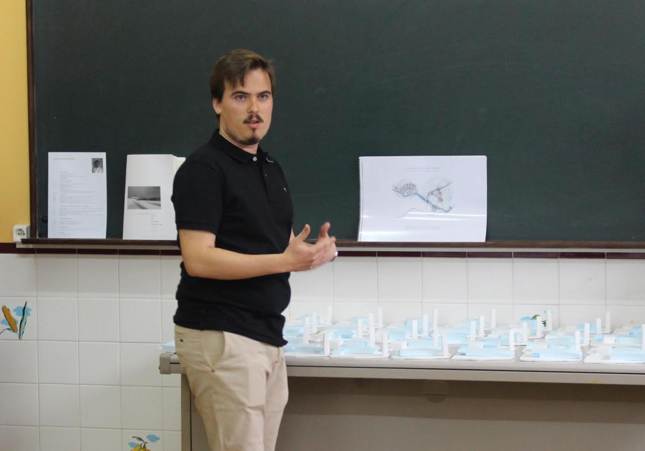 Apresentado estudo de transformação do edifício da antiga Escola do Tojal