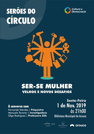 Círculo Cultura e Democracia promove tertúlia sobre os desafios de ser mulher