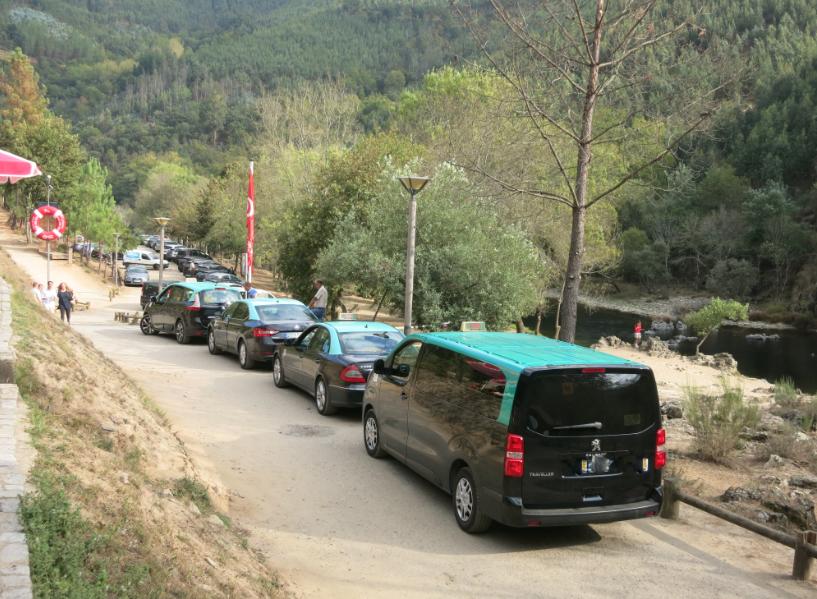 Concorrência entre táxis e jipes nos Passadiços do Paiva sem solução à vista