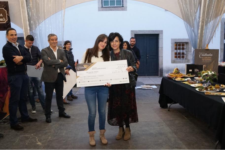 Festival da Castanha: Catarina Tavares venceu o concurso 'Melhor Castanha de Arouca'