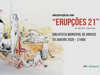 """Adriano Figueiredo apresenta livro de poesia """"Erupções 21"""""""