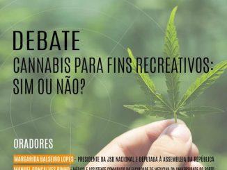 JSD Arouca promove conferência 'Cannabis para fins recreativos: sim ou não?'