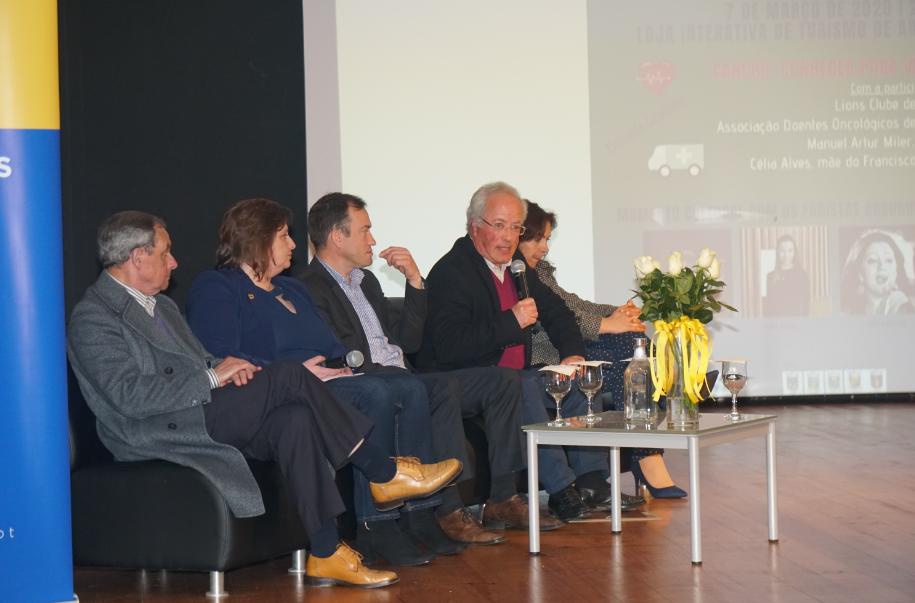 Lions Clube de Arouca promoveu sessão 'Juntos no Combate ao Cancro Infantil'