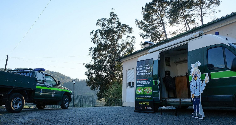 GNR e Município de Arouca promovem ações de sensibilização sobre a gestão de combustíveis e uso do fogo