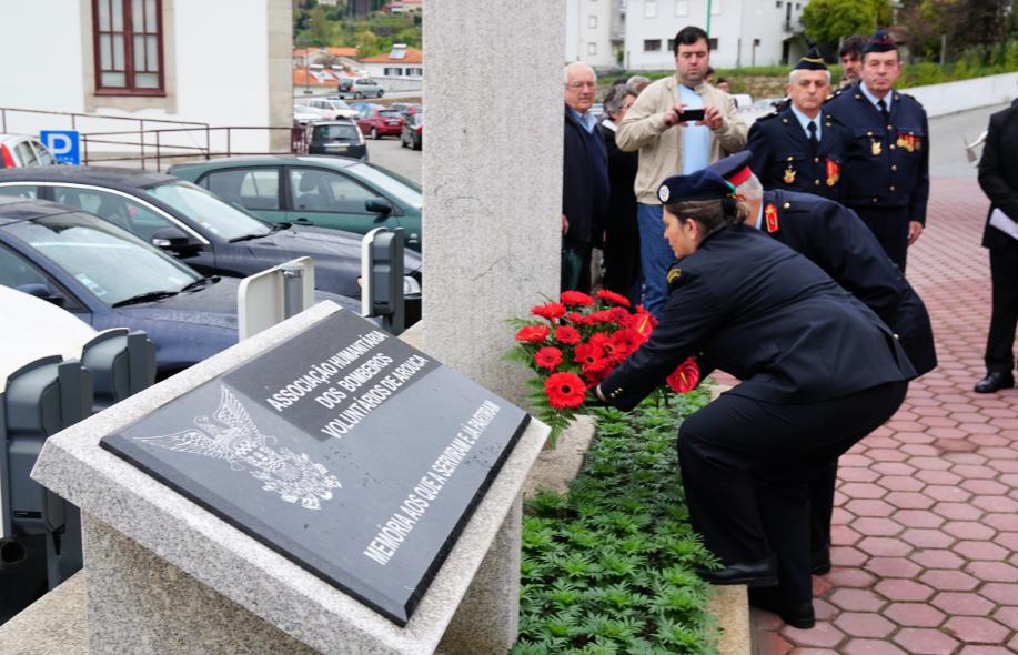 Associação Humanitária dos Bombeiros Voluntários de Arouca assinalou 43º aniversário com mensagem da direção e do comando