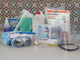 COVID-19 | Câmara apoia IPSS's, serviços de saúde e proteção civil com material de proteção