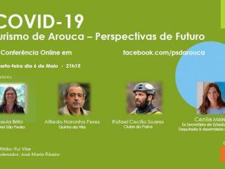 PSD Arouca promove nova conferência online
