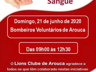 Lions Clube de Arouca promove nova recolha de dádivas de sangue