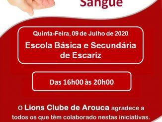 Lions Clube de Arouca promove nova dádiva de sangue