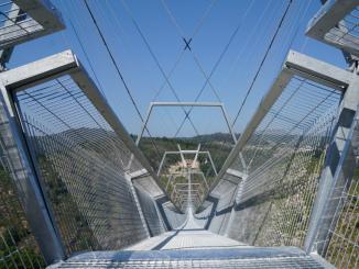 """Margarida Belém, presidente da Câmara Municipal de Arouca: """"Tudo estamos a fazer para que no início do outono possamos ter uma pré-abertura da ponte"""""""