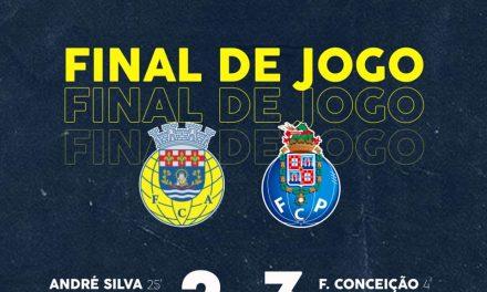 F.C. Arouca: Segunda derrota no campeonato