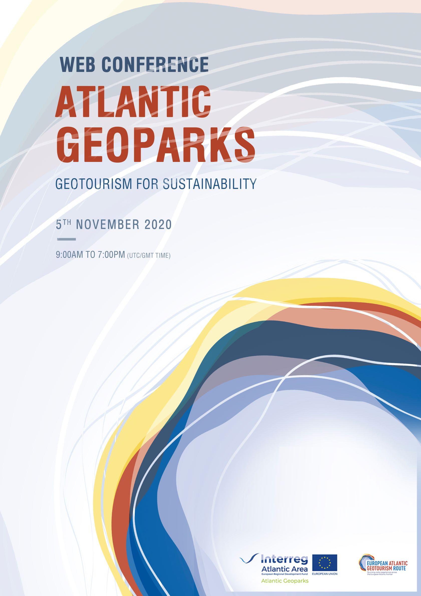 Conferência Web 'Geoparks Atlânticos – Geoturismo para a Sustentabilidade'