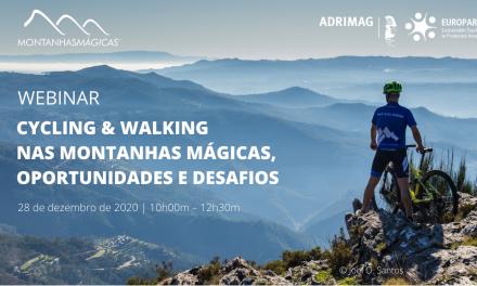 ADRIMAG promove webinar 'Cycling & walking nas Montanhas Mágicas'