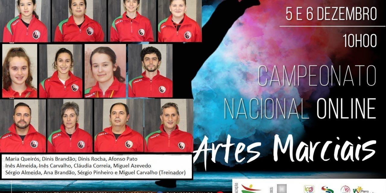 Campeonato Nacional de Kung Fu online: atletas arouquenses tornam-se campeões nacionais 2020