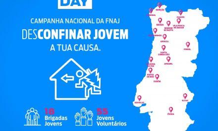 """Arouca associa-se à campanha """"Desconfinar Jovem"""" da Federação Nacional das Associações Juvenis"""