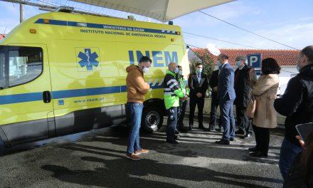 Hospital de Oliveira de Azeméis com nova Ambulância de Suporte Imediato de Vida