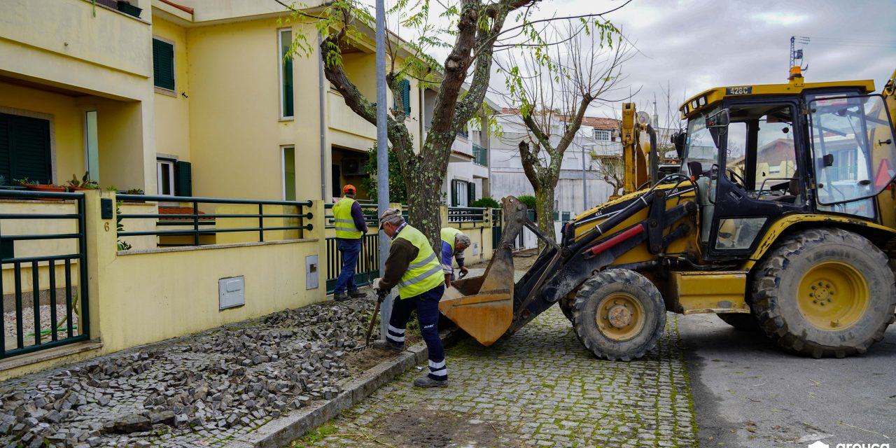Arrancou obra de requalificação da rua Cidade de Poligny
