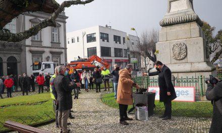 castelo de paiva: Governo deu mote para arranque de obras
