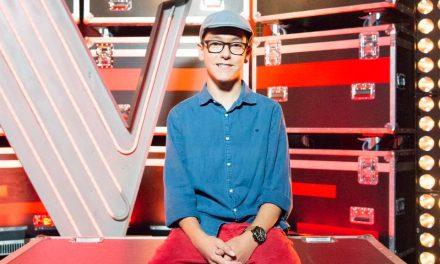 Jovem arouquense Simão Oliveira no 'The Voice Kids'