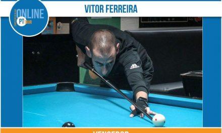 Valecambrense Vitor Hugo Ferreira venceu o IV Torneio Online PT Tour de Bola 10