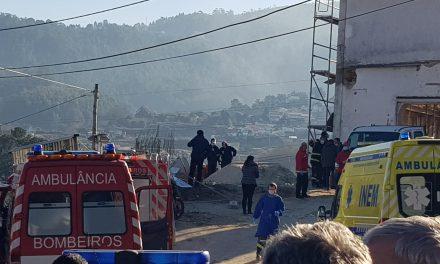 Vale de Cambra: Acidente em obra faz um morto e 3 feridos