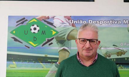 """Carlos Araújo, Presidente da U.D. Mansores: """"É difícil criar ambições desportivas com as condicionantes que a pandemia nos trouxe, mas o objetivo do Mansores sempre foi lutar para vencer e conquistar a subida de divisão"""""""