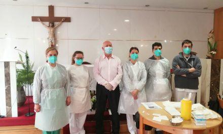 Utentes e funcionários da Santa Casa da Misericórdia de Arouca foram vacinados contra a Covid-19