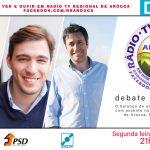 Rádio Regional de Arouca e Discurso Directo promovem debate político