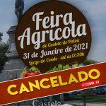 Castelo de Paiva: Autarquia cancela Feira Agrícola de domingo