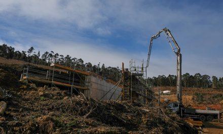 AROUCA: Executivo Municipal visita obras de ligação do Parque de Negócios de Escariz à A32