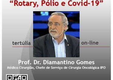 "Tertúlia Online ""Rotary, Pólio e Covid-19"""