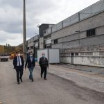 """Executivo de Castelo de Paiva visitou as """"obras"""" do futuro Centro Empresarial do concelho"""