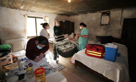 AROUCA | Acompanhamos mais um dia de vacinação no domicílio