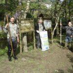 Ação de limpeza no rio Urtigosa