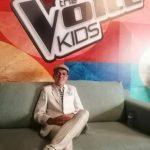 Simão Oliveira na Final do concurso The voice Kids