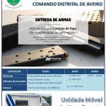 Entrega voluntária de armas sem registo em Arouca