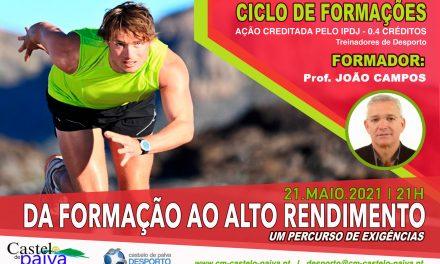 Ciclo de Formações Desportivas 2021 de Castelo de Paiva tem nova ação este mês