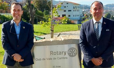 Governador do Distrito Rotário 1970 visitou esta terça-feira Vale de Cambra