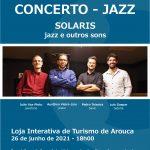 Quarteto Solaris traz sons do jazz a Arouca
